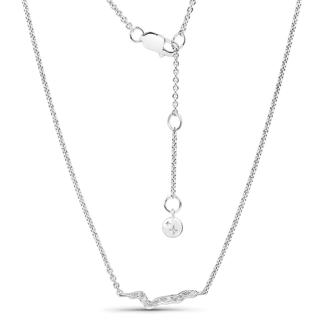 Diamond Adjustable Necklace