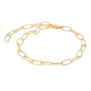 Link Chain Adjustable Bracelet