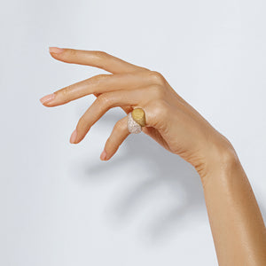 Signet Bubble Ring