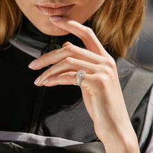 Load image into Gallery viewer, Signet Pave Ring
