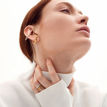 Load image into Gallery viewer, Bicolor Sculptural Ear Cuff