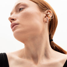 Load image into Gallery viewer, Tricolor Sculptural Ear Cuff