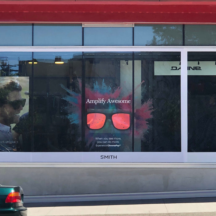 Smith Optics window at Comor