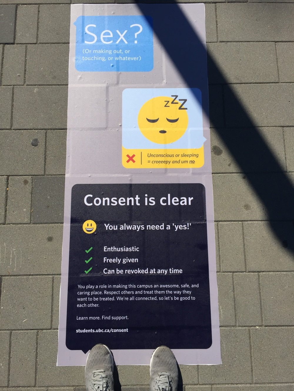 UBC - Consent is clear