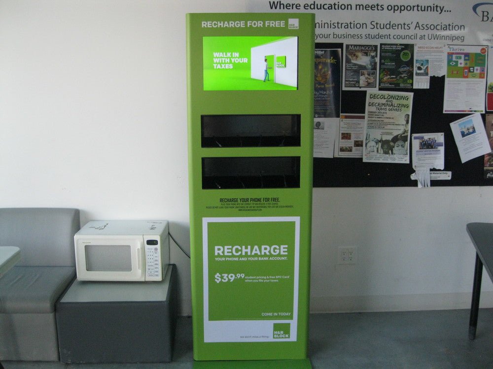 H&R Block - Phone Charging Stations