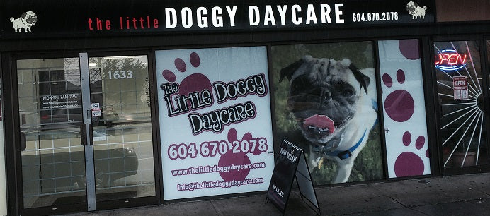 Doggy Daycare - Designed, printed and installed!