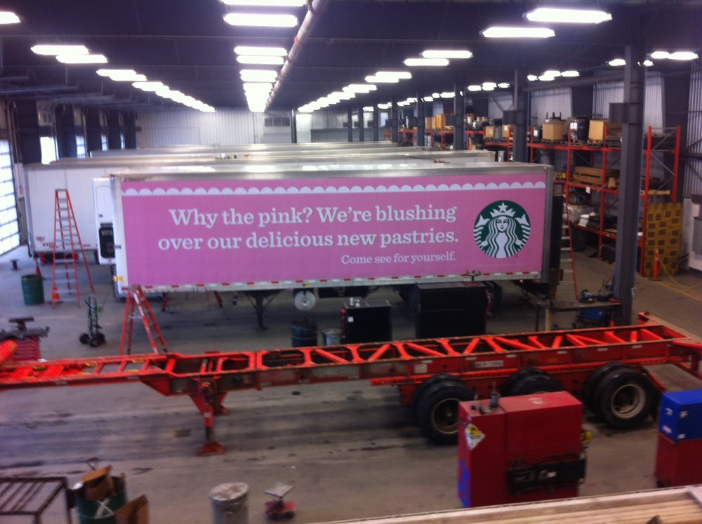 Starbucks trailers!