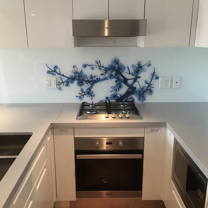 Something new! Kitchen, shower and interior print and install work.