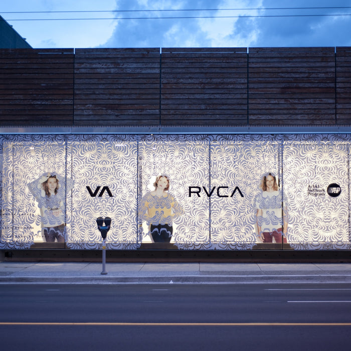 RVCA x Boardroom Window Display