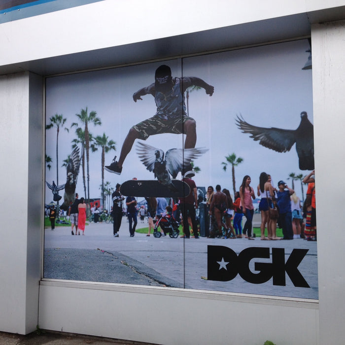 DGK mural at Pacific Boarder