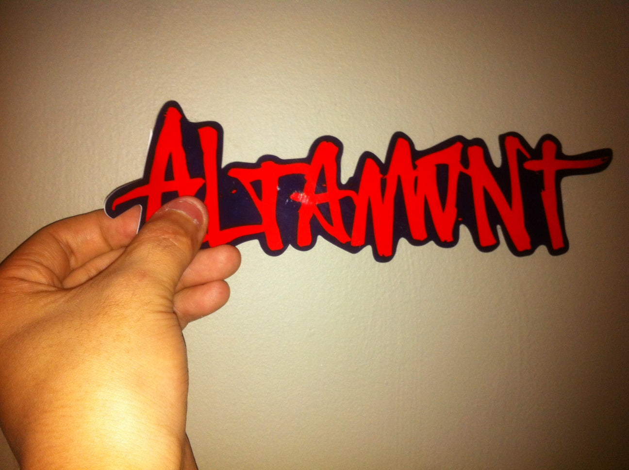 Die Cut, Vinyl Water proof stickers made for Altamont.