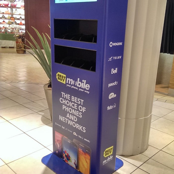 Power up at these newly wrapped charging stations!