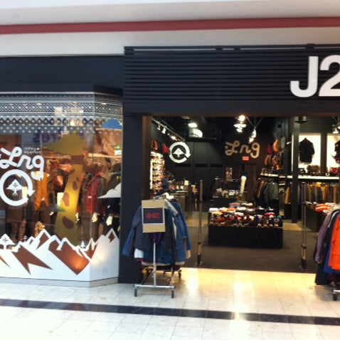 J2 stores - LRG window display!