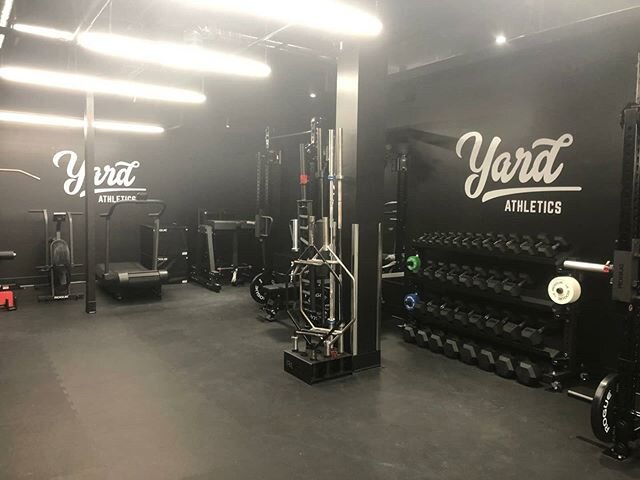Just printed and installed for @yardathletics_ in Vancouver.  #gym #print #install #graphics #vinyl #vancouver #workout #workoutplan #gains #lift