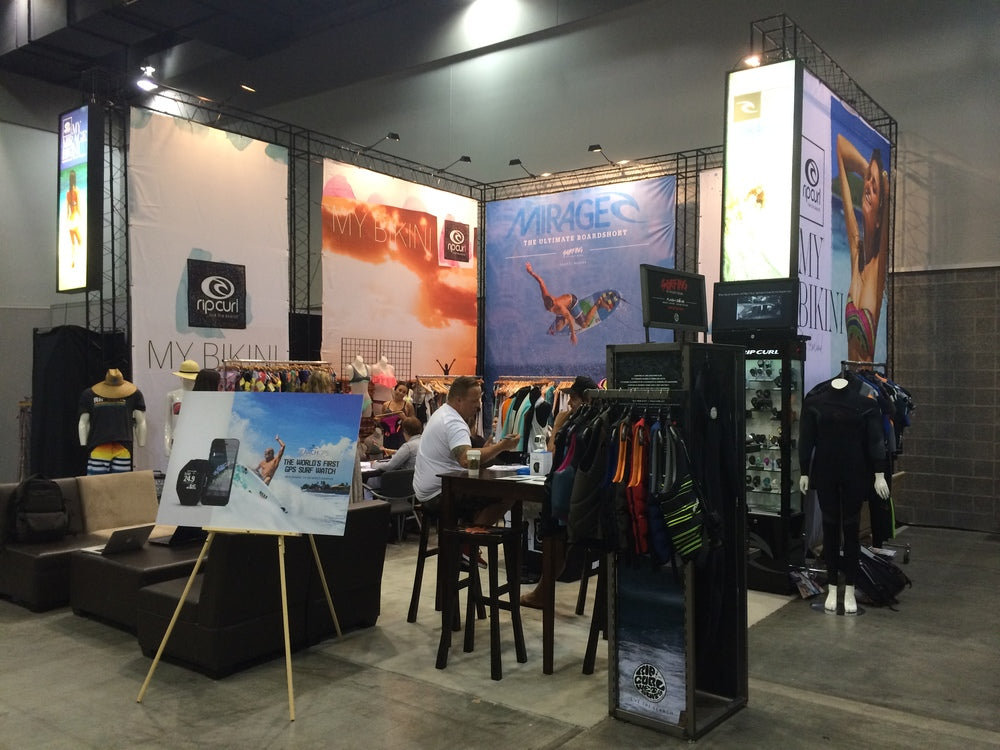 Rip Curl Booth