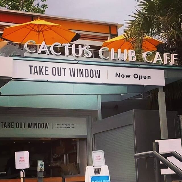 Take out window looking fresh!  @cactusclubcafe  #takeoutwindow #cactusclub #print #install #restaurant #reopening