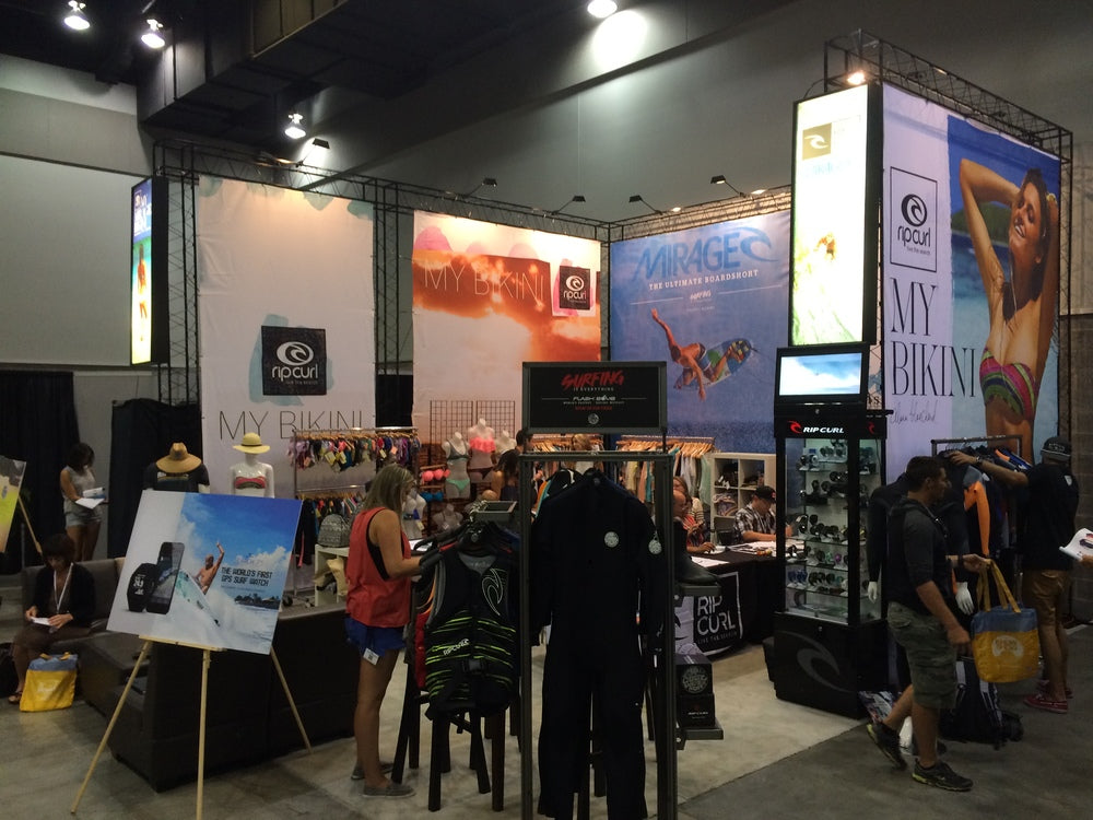 Rip Curl Booth 3