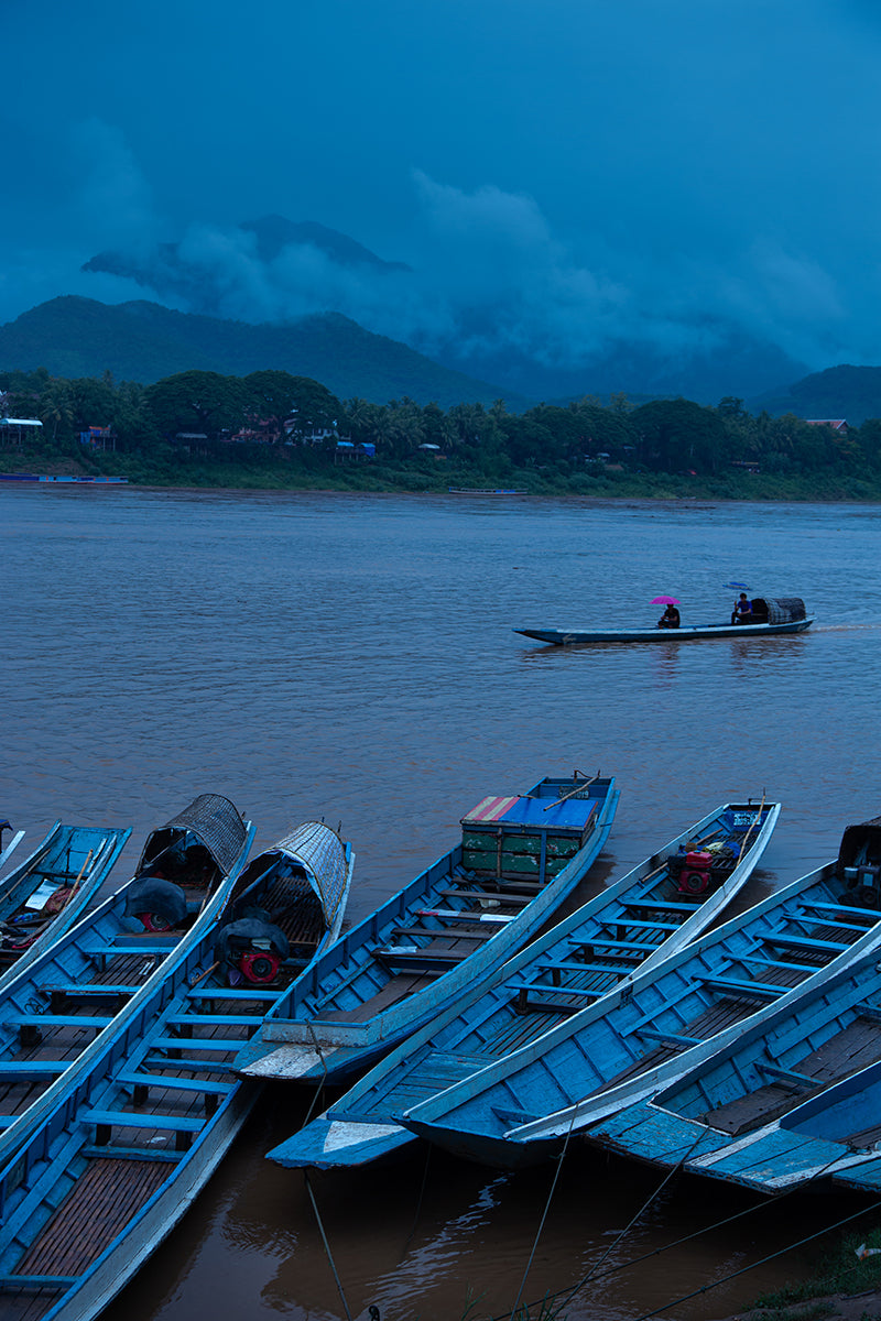 The Mekong River, Luang Prabang, Laos, 2013