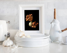 Load image into Gallery viewer, Custom Frame Chestnut Mushroom No. 2, 2020