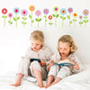 16 Spring Garden Flower Wall Decals - Wall Dressed Up - 1
