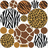 Animal Print Dot Wall Decals - Wall Dressed Up - 2