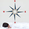 Large Nautical Compass Wall Decal - Wall Dressed Up - 3