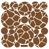 Giraffe Print Wall Decals - Wall Dressed Up - 3
