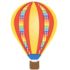 Hot Air Balloons & Clouds in Primary Colors Wall Decals - Wall Dressed Up - 3