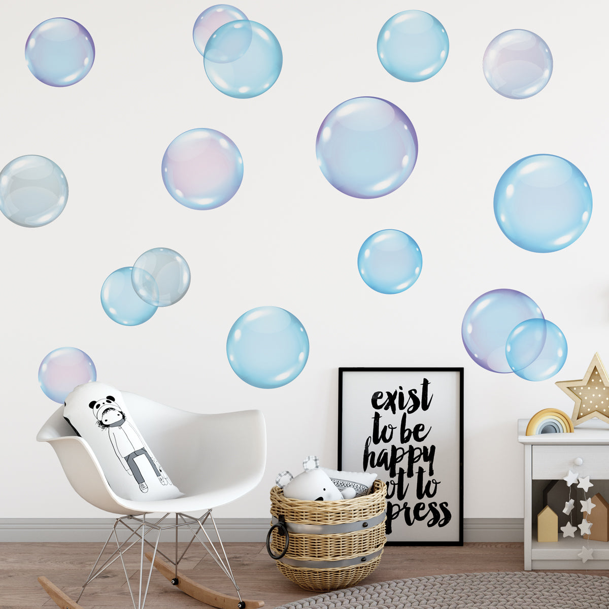 Large Wall Decals Bubbles Bubble Wall Stickers Bathroom Wall Decals