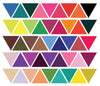 45 Mod Multi-color Triangle Wall Decals - Wall Dressed Up - 2