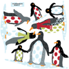 Patterned Penguin Wall Decals - Wall Dressed Up - 2