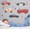 Emergency Vehicle Wall Decals - Wall Dressed Up - 1