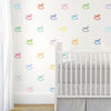 33 Sorbet Multi-color Rocking Horse Wall Decals - Wall Dressed Up - 1