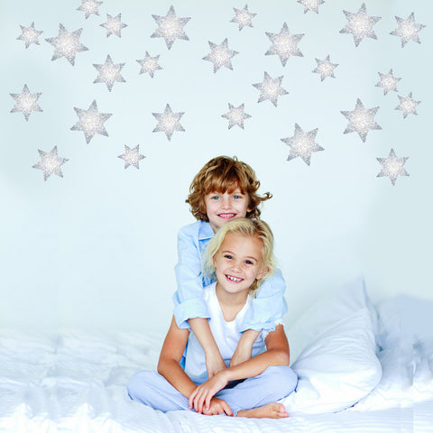 27 Celestial Star Wall Decals - Wall Dressed Up
