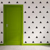 36 Large Triangle Vinyl Wall Decals Triangle Wall Stickers - Wall Dressed Up
