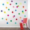 36 Rainbow of Colors Polka Dot Wall Decals - Wall Dressed Up - 1