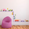 Extra Purple Road Wall Decals - Wall Dressed Up - 3