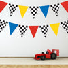 Race Car Flag Wall Decals - Wall Dressed Up - 1