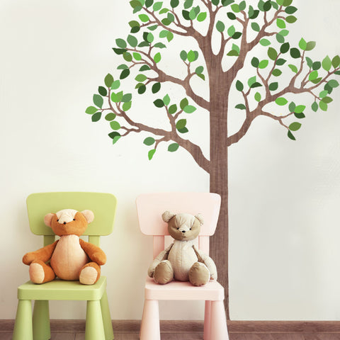 Large Woodland Tree Wall Decals - Wall Dressed Up - 1