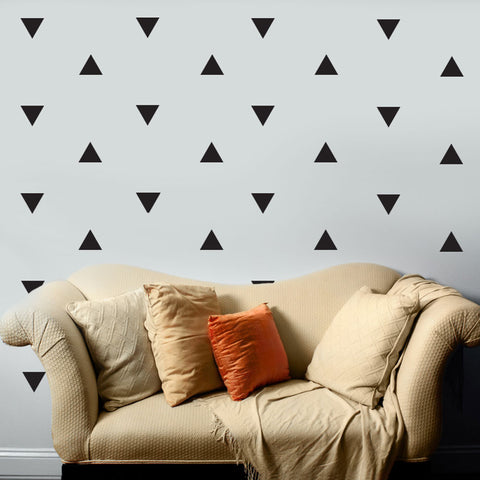 ... 36 Large Black Triangle Vinyl Wall Decals   Wall Dressed Up   4 ...