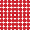64 Red Polka Dot Wall Decals - Wall Dressed Up - 3