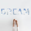 Dream Quote Wall Decals - Wall Dressed Up - 1