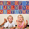 Alphabet Blocks in Primary Colors Wall Decals - Wall Dressed Up - 1