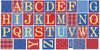 Alphabet Blocks in Primary Colors Wall Decals, Eco-Friendly Matte Wall Stickers - Wall Dressed Up