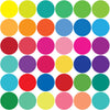 36 Rainbow of Colors Polka Dot Wall Decals - Wall Dressed Up - 3