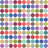 "121 Modern Multicolor 2"" Round Polka Dot Wall Decals, Removable and Reusable Decals - Wall Dressed Up"