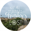"Quote Wall Decal, ""Not All Those Who Wander Are Lost"" - Wall Dressed Up"