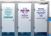 Kindness Project Quotes School Bathroom Decals, Boys or Unisex All 5 Positive Esteen Quote Decals for Schools, Kids, Teachers Set B - Wall Dressed Up