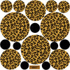 Leopard Print Dot Wall Decals - Wall Dressed Up - 3
