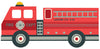 Large 4ft Fire Engine Wall Decals - Wall Dressed Up - 2